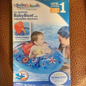 Never been used baby boat for swimming